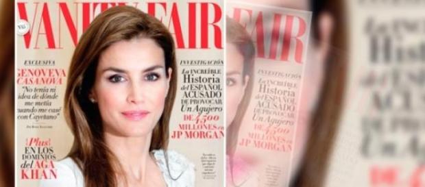 La Reina Leticia portada de Vanity Fair de nuevo
