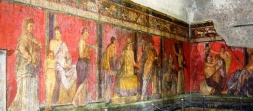 Afresco da Villa dos Mistérios, Pompeia