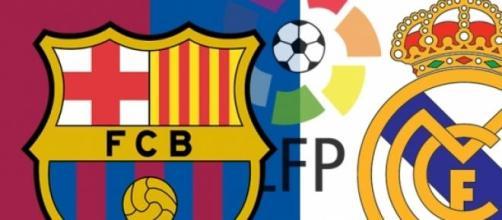 Clásico español entre Barcelona y Real Madrid