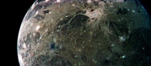 Ganimedes, a maior lua do sistema solar