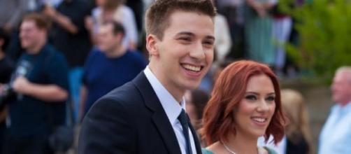 Hunter y Scarlett Johansson