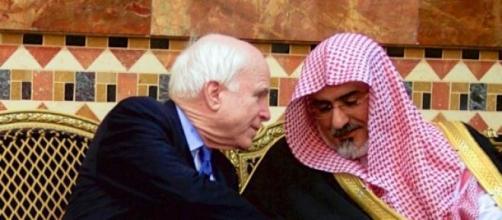 US Senator McCain & one of the Saudi Royal Family.