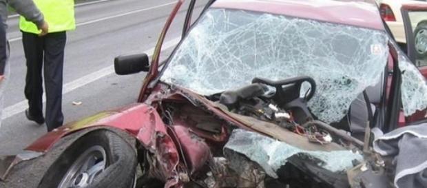 Accident rutier la Brasov