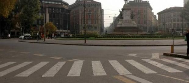 Blocco traffico a Roma 22 marzo 2015