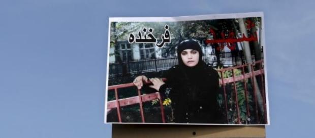 Farkhunda, 27 anni, uccisa a Kabul