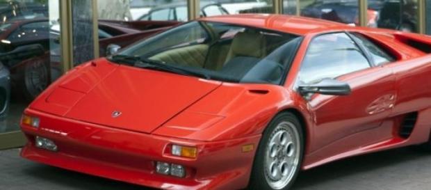 Lamborghini Diablo, uno de los autos de Pujol Jr.