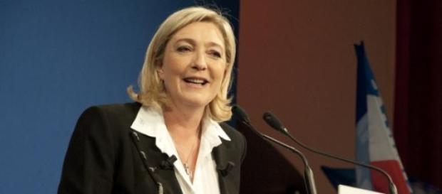 Marine Le Pen, leader del Fronte National