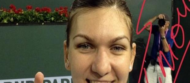 Simona Halep in finala Indian Wells