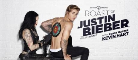 Roast of Justin Bieber on Comedy Central
