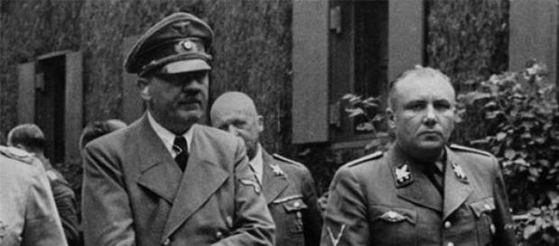 Martin Bormann considerado mano derecha de Hitler