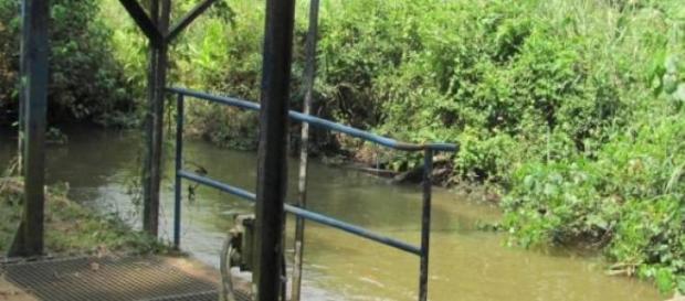 Prise d'eau sans protection
