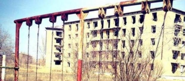 Satul Kalchi din Kazahstan