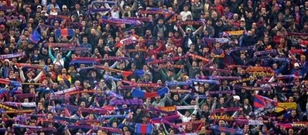 Steaua a ajuns sa nu mai aiba suporteri la stadion