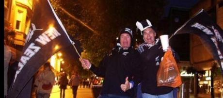 Delight for New Zealand fans in Cricket World Cup