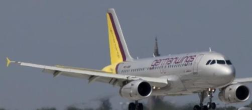 Avión de la compañía Germanwings