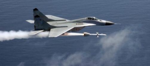 Caça MiG-29 similar aos oferecidos à Nicarágua.