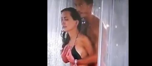 Ducha hot entre Aylén y Marco Ferri