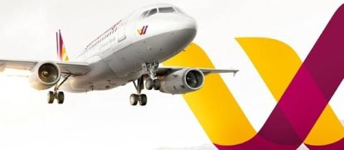 Germanwing aircraft and logo