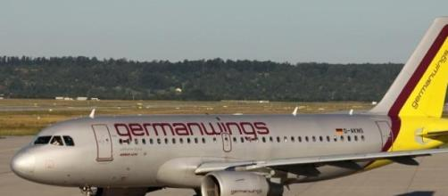 Germanwings, compagnia tedesca dei voli low-cost.
