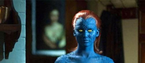 Jennifer Lawrence no papel de Mystique em X-Men