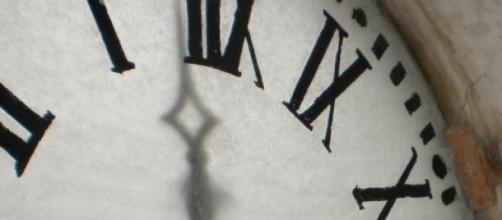 Un esempio di un quadrante di orologio