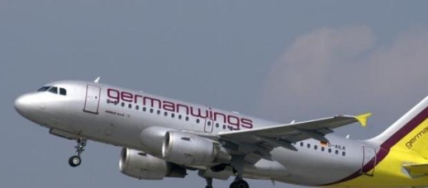 A Germanwings Airbus taking off