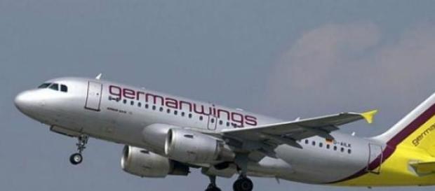 Avión de Germanwings despegando