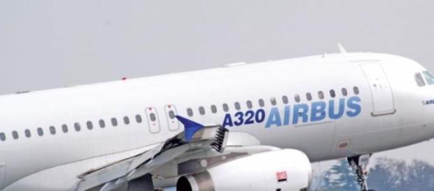 El Airbus con el que se produjo el accidente