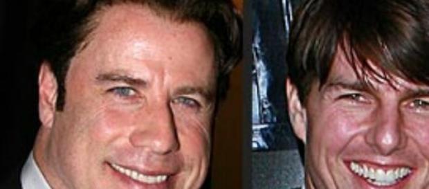 Travolta e Cruise (foto RedCarpetCloset)