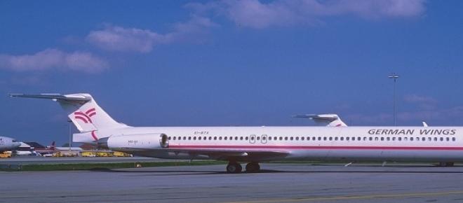 El avión era uno de los más antiguos de Germanwing