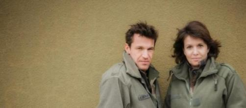 Benjamin Castaldi et Carole Rousseau