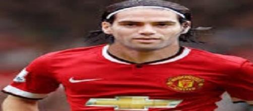 Falcao está de saída do Manchester United