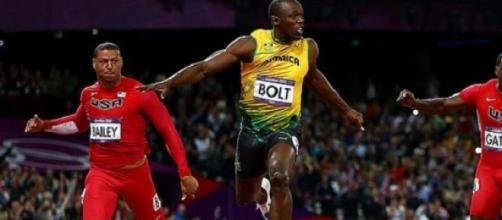 Gatlin will hope to be ahead of Bolt in Beijing