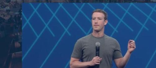 Mark Zuckerberg at F8 2015.
