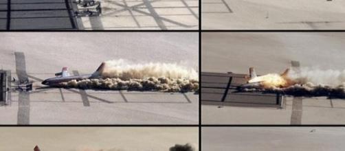 Un accidente de avión cualquiera que acaba fatal.