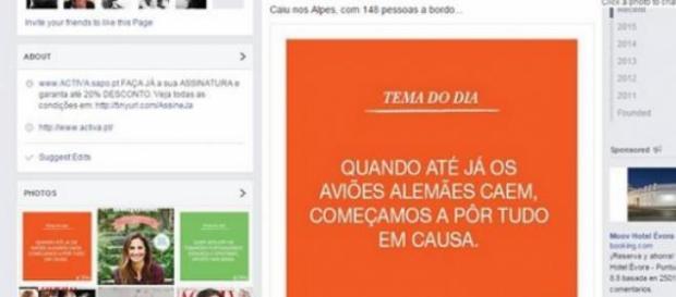 Comentário da revista portuguesa