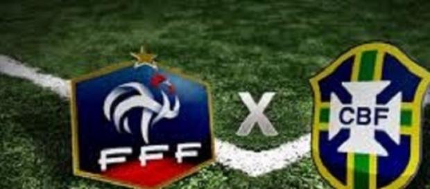 França e Brasil se enfrentam nessa quinta