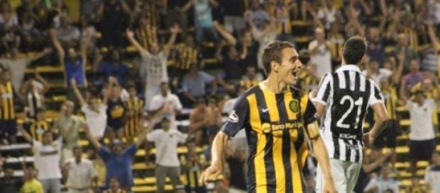 Marco Ruben, goleador del torneo con 6 goles