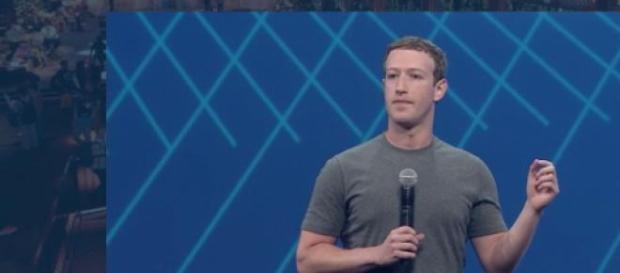 Mark Zuckerberg, CEO do Facebook, na F8 2015.