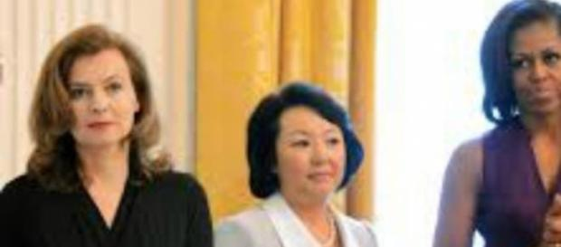 Michelle Obama fez uma visita oficial ao Japão