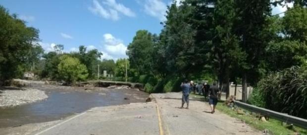 Ruta Intermunicipal, luego de las inundaciones