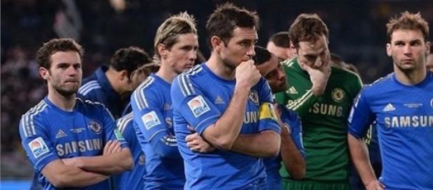 Tristeza em mais uma derrota de um time inglês....