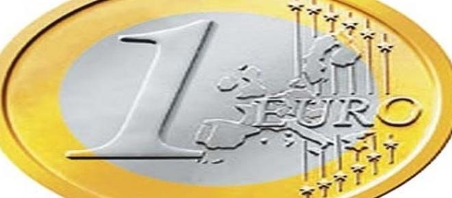 Moneta 1 Euro (wartość w dniu pisania tekstu: 4,09 PLN)