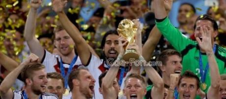 L'Allemagne, championne du monde.
