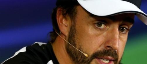 Alonso recordou momento do acidente