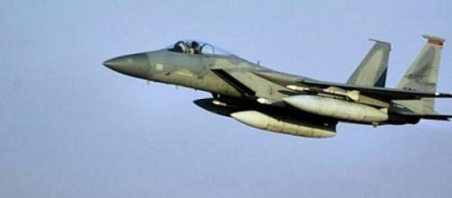 Caça F-15 da Real Força Aérea Saudita.