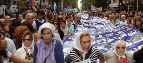 Organismos de DDHH, presentes en la marcha