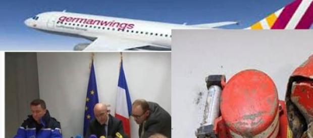 el copiloto podría  haberse inmolado en el avión