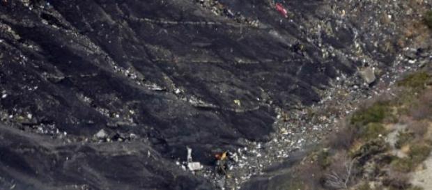 Imágenes tras el fatídico accidente aéreo