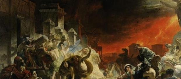 Karl Brullov: The Last Day of Pompeii